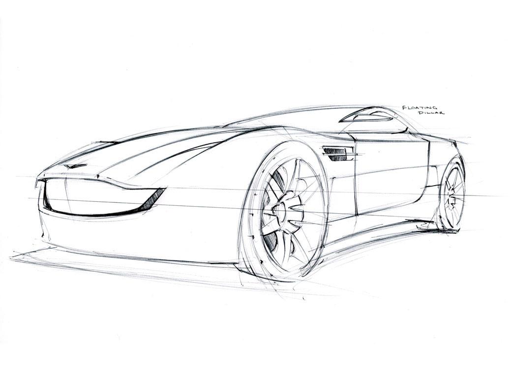 Aston Martin Volare Sketch Lg
