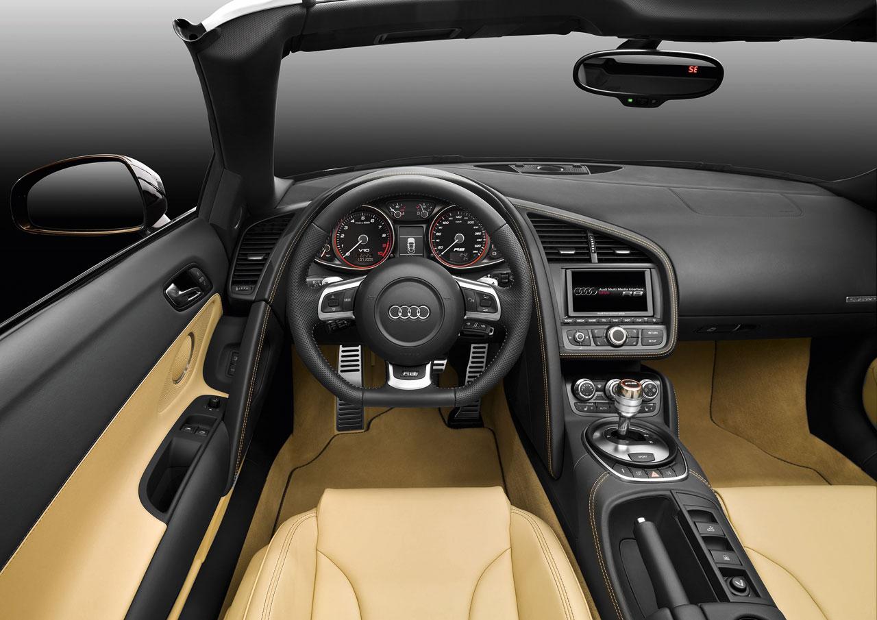 Audi R8 Spyder Car Body Design