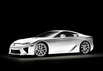 Lexus LFA - Car Body Design