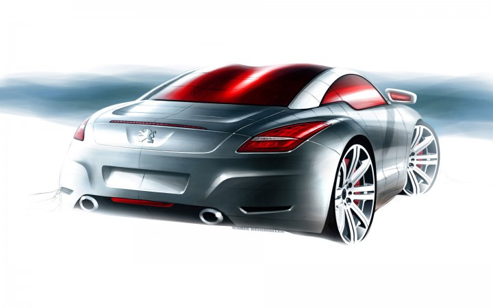Peugeot RCZ - Car Body Design
