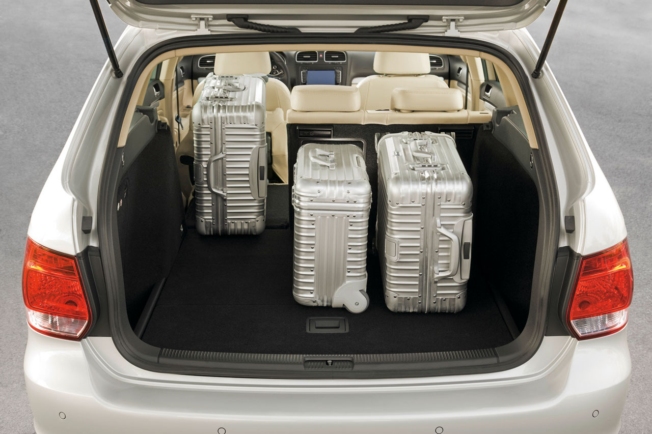 Vw Golf Variant Luggage Car Body Design