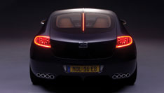 Bugatti 16C Galibier Concept Rear View