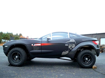 Rally fighter debuts at sema show car body design for Local motors rally fighter for sale