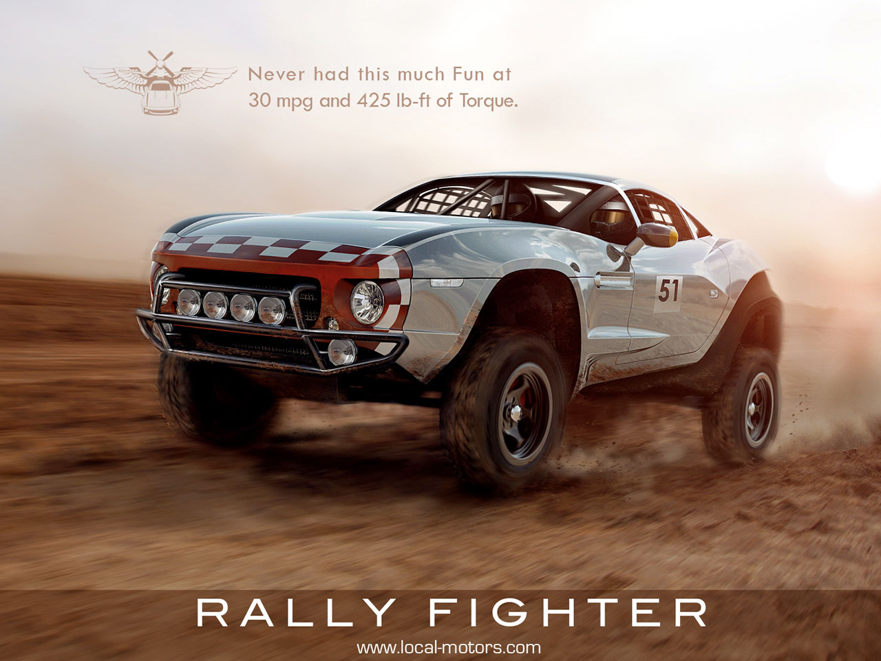 Rally Fighter Debuts At Sema Show Car Body Design
