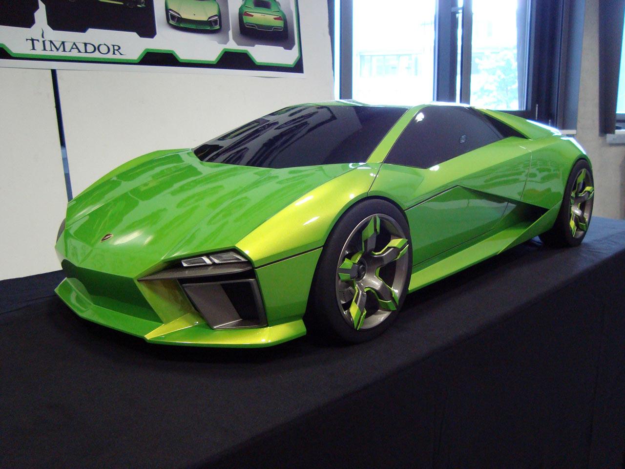 Lamborghini Timador by Johannes Brandsch Clay Model - Car Body Design