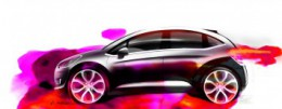 Citroen C3 Design Sketch