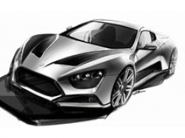 Zenvo ST1 Design Sketch