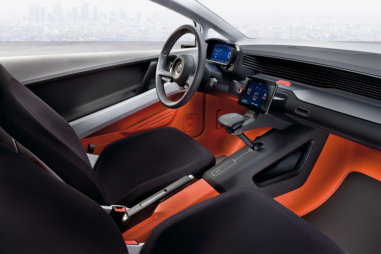 vw up lite concept interior car body design. Black Bedroom Furniture Sets. Home Design Ideas