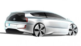 VW Up! Lite Design Sketch