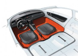 VW Up! Lite Interior Design Sketch