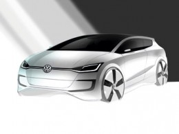 VW Up! Lite Concept Design Sketch