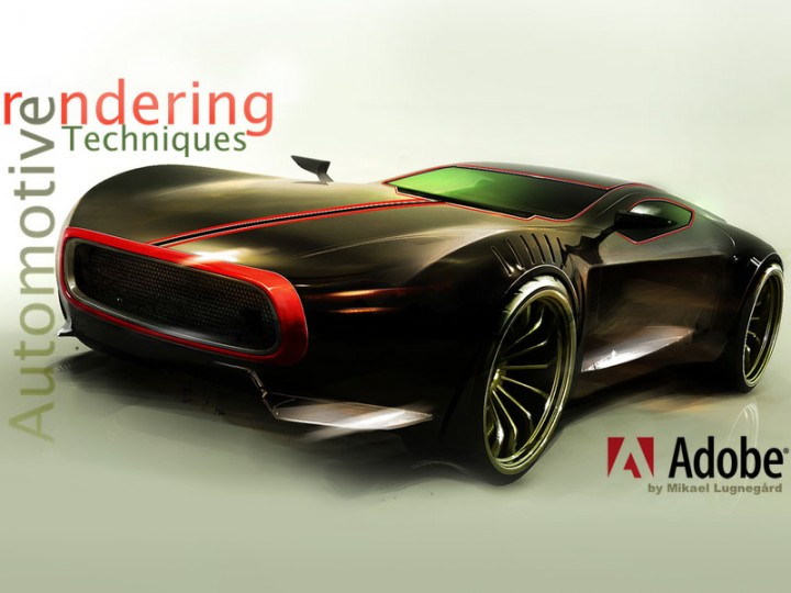 Automotive Rendering Techniques by Mikael Lugnegård