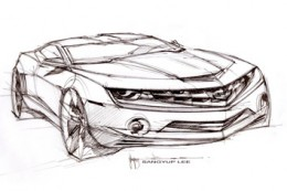 2010 Camaro design sketch