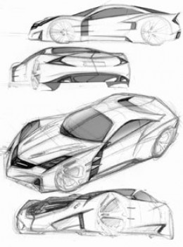 Carlsson C25 Design Sketches