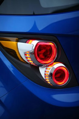 Chevrolet Aveo RS Concept Tail Light