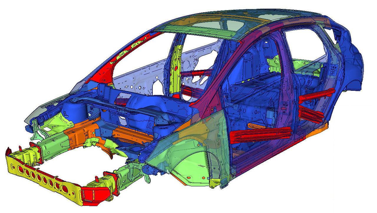 New Ford Focus Car Body Design