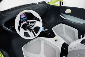 Toyota FT-CH Concept Interior