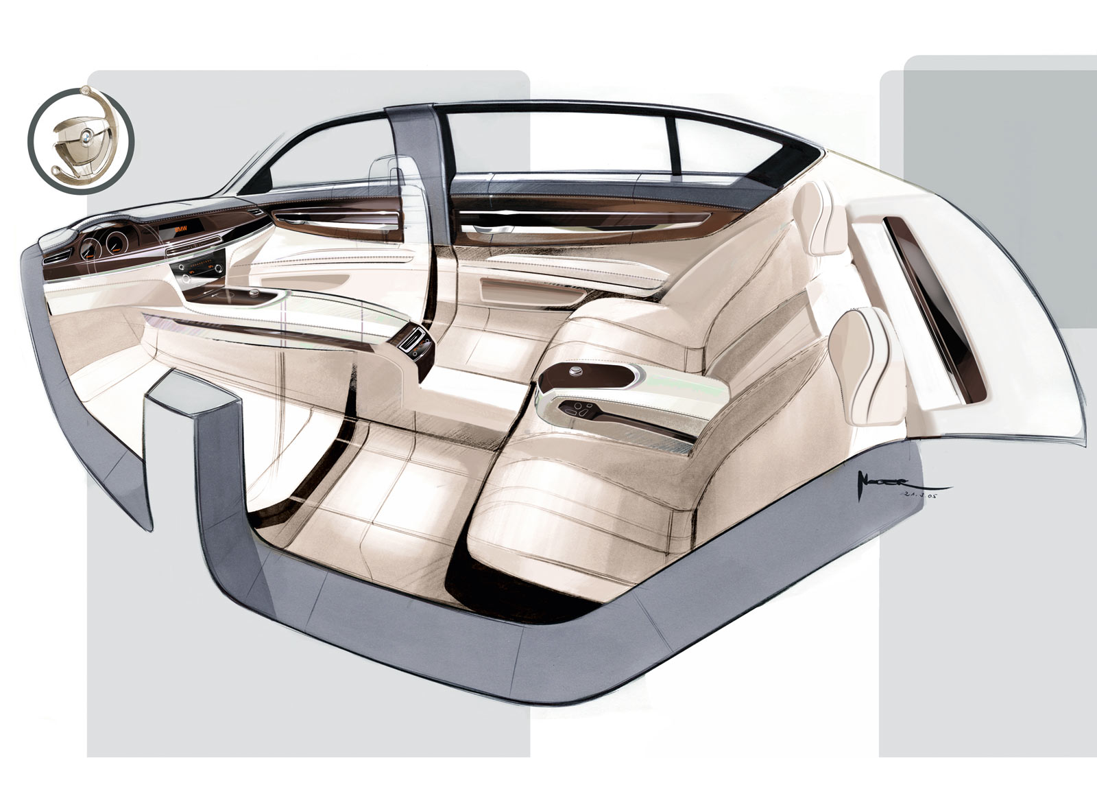 Bmw design an analysis of joy car body design - Car interior design ...