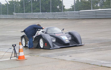 The E-Sphyra Concept on the racetrack
