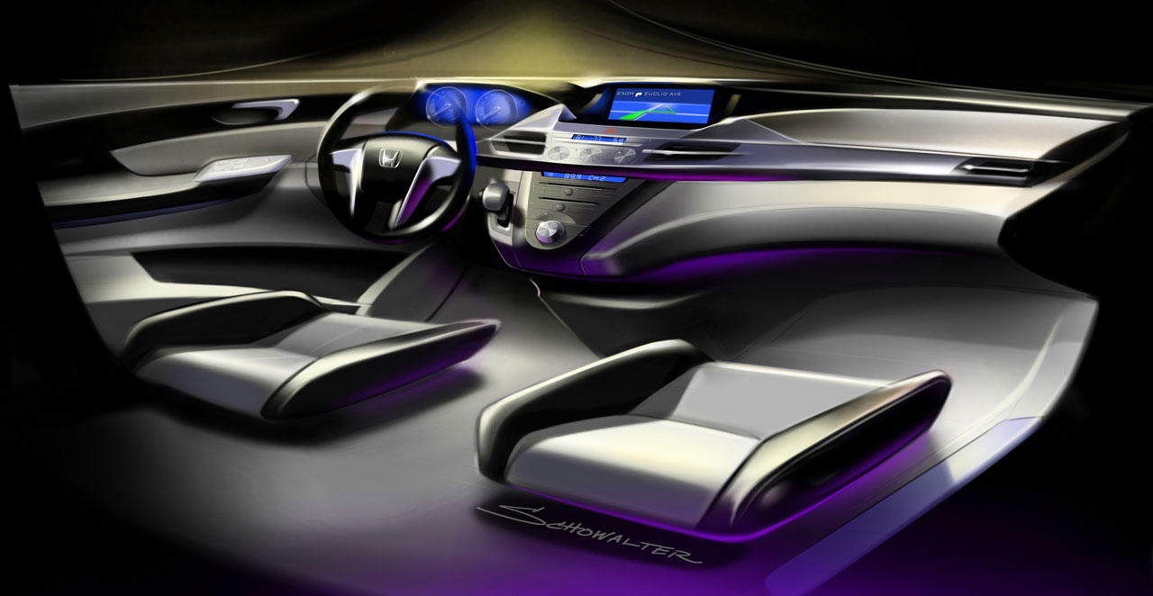 honda odyssey concept car body design. Black Bedroom Furniture Sets. Home Design Ideas