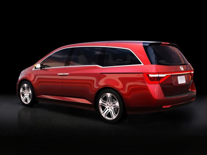 Honda Odyssey Concept Car Body Design