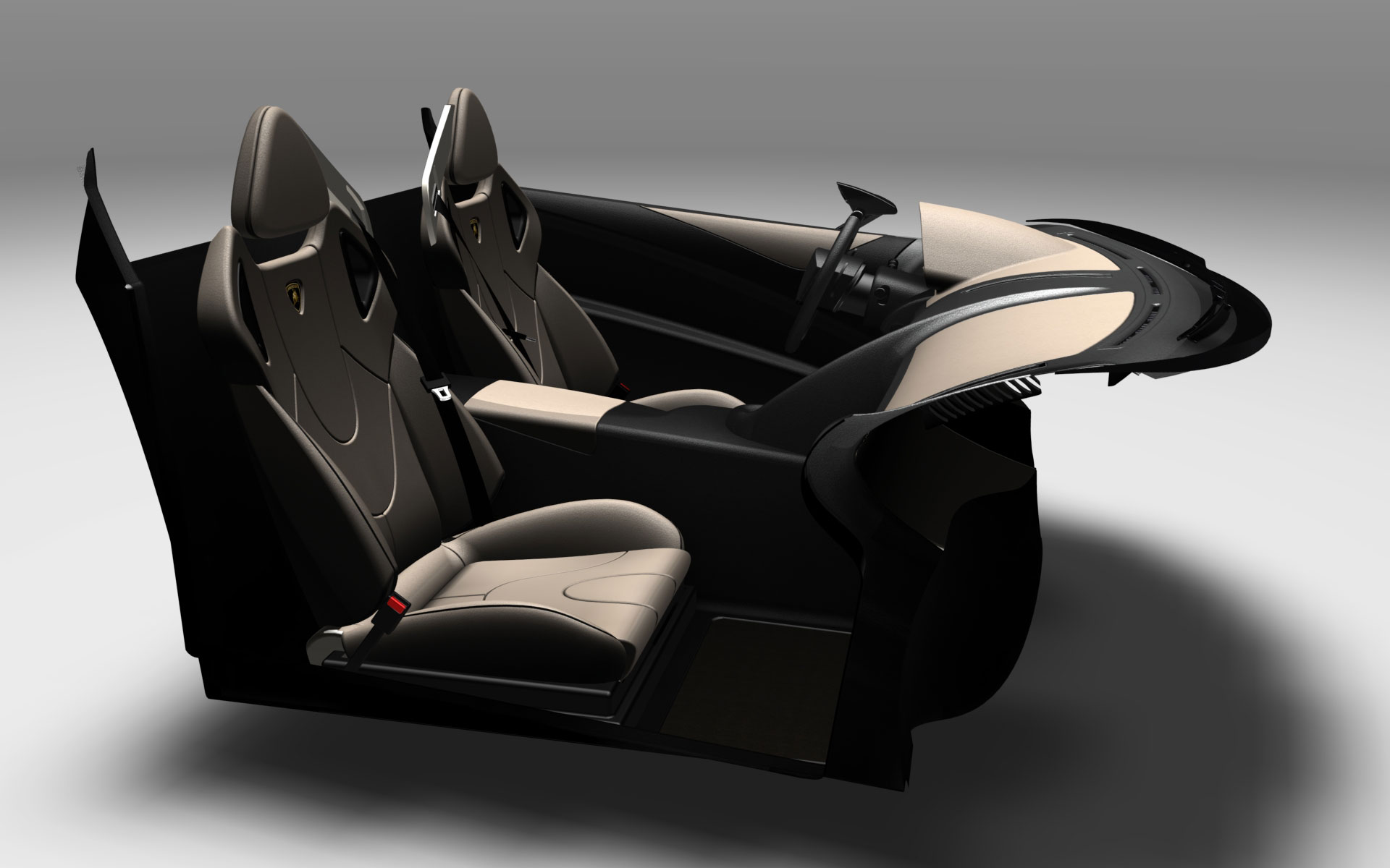lamborghini murcielago interior rendering car body design. Black Bedroom Furniture Sets. Home Design Ideas