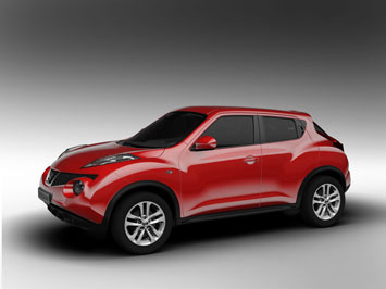 first revealed as the qazana show car unveiled at the 2009 geneva motor show juke was created at the london based nissan design europe and refined at