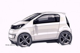 Volkswagen In Concept Design Sketch