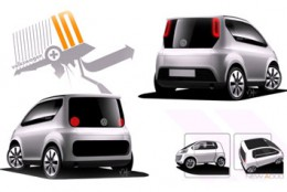Volkswagen In Concept Design Sketches