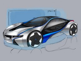 BMW Vision EfficientDynamics Design Sketch