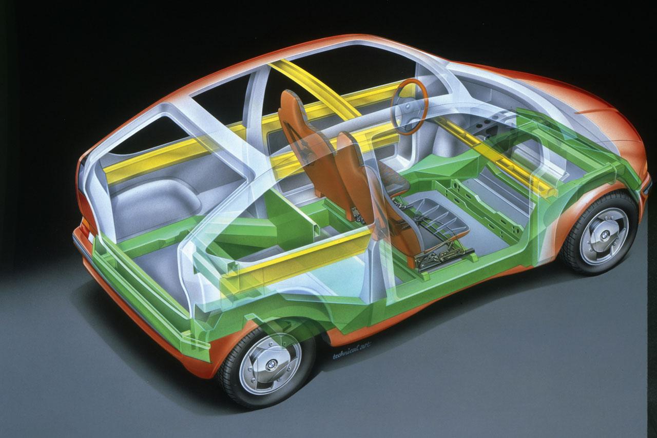 BMW secret concepts: 25 Years of BMW Technik GmbH - Car Body Design