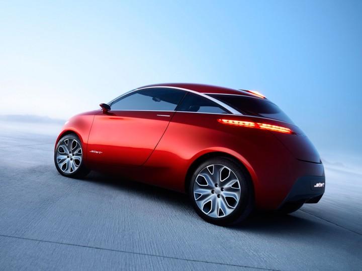 Ford Start Concept Car Body Design