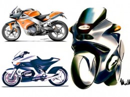 BMW Motorcycles design sketches