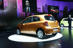 The New Nissan Micra at Geneva 2010