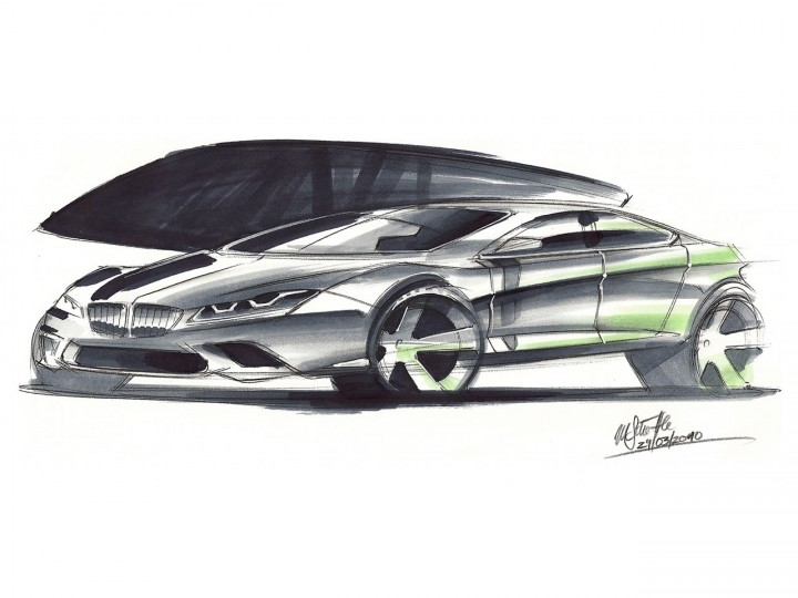 Pen and Markers Car Sketching Tutorial - Car Body Design