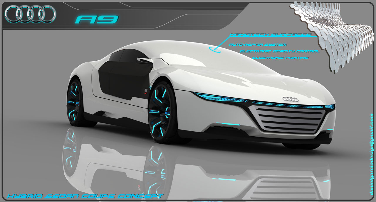 audi a9 concept by myspcars myspcars the latest news about cars. Black Bedroom Furniture Sets. Home Design Ideas