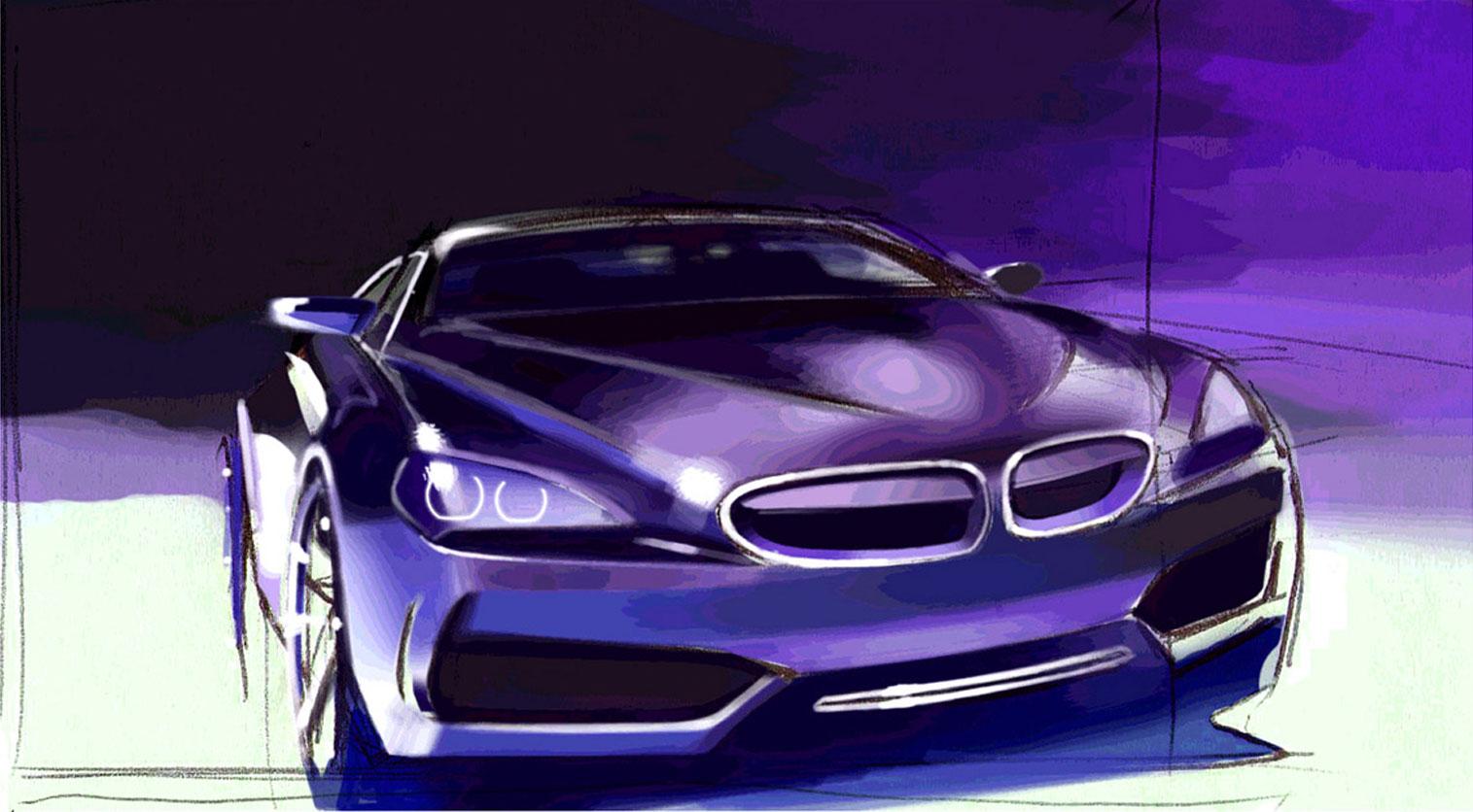 BMW Concept Gran Coupé: design images - Page 13 - Car Body Design