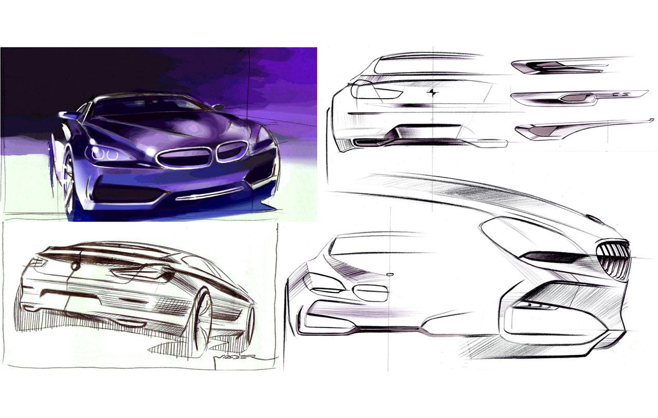 BMW Concept Gran Coupé: design images - Car Body Design