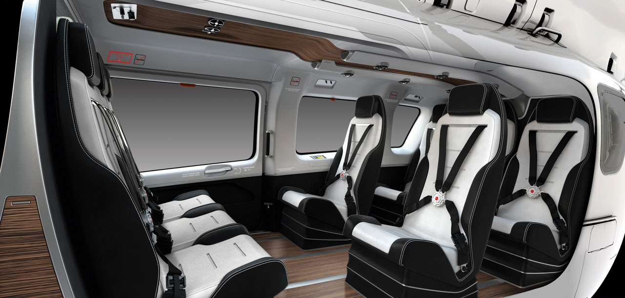Mercedes benz launches style division car body design for Helicoptere interieur