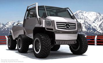 Mercedes Benz Hexawheel Concept