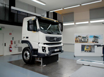 Volvo Truck Clay Model