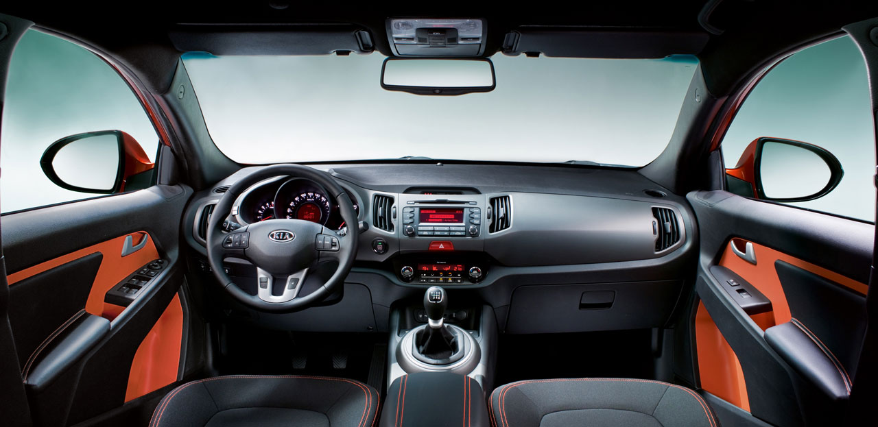 Kia Sportage Interior - Car Body Design