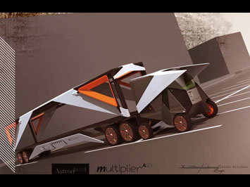 Multiplier Concept: a parking system on wheels - Image Gallery