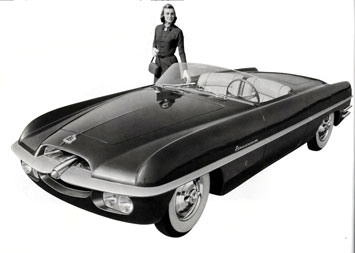 1954 Dodge Firearrow Roadster