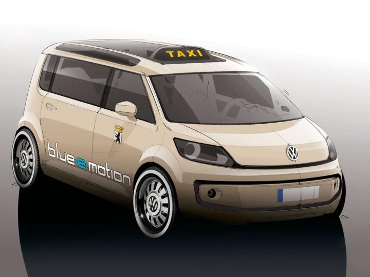 Volkswagen Berlin Taxi Concept Car Body Design