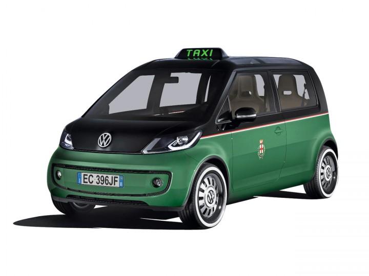 Volkswagen Milano Taxi Concept Car Body Design