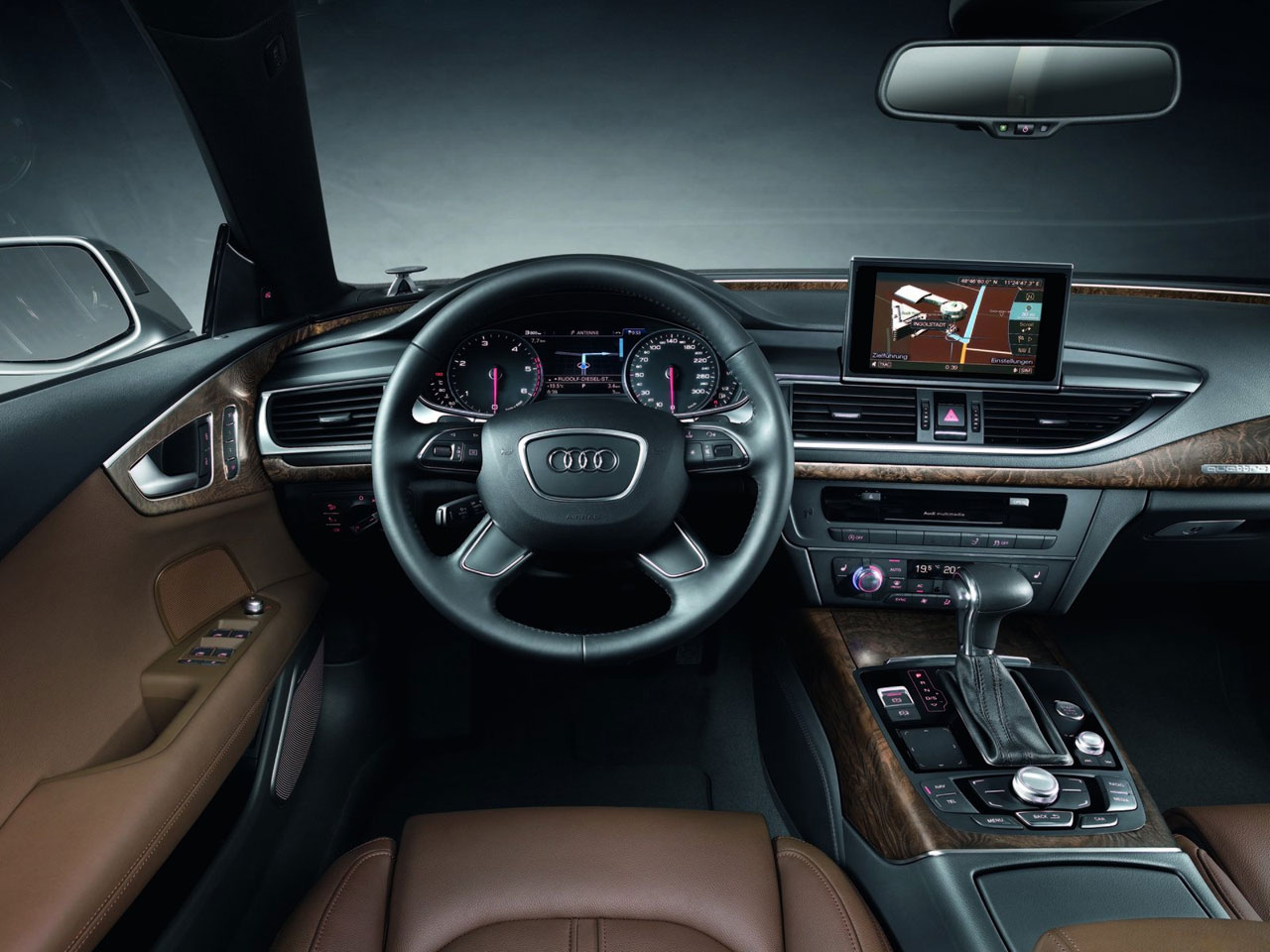 Audi A7 Sportback Interior - Car Body Design
