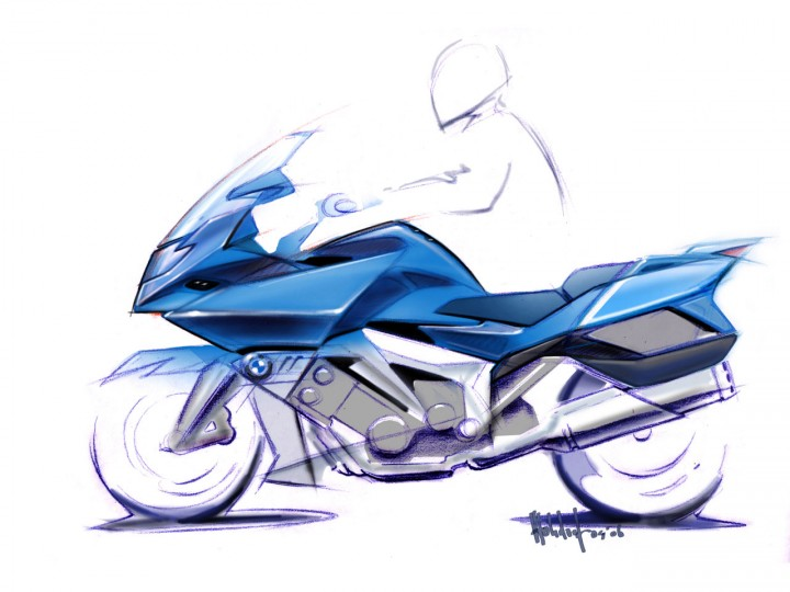 BMW K 1600 GT and GTL: design preview