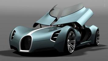 Bugatti Aerolithe Concept Rendering