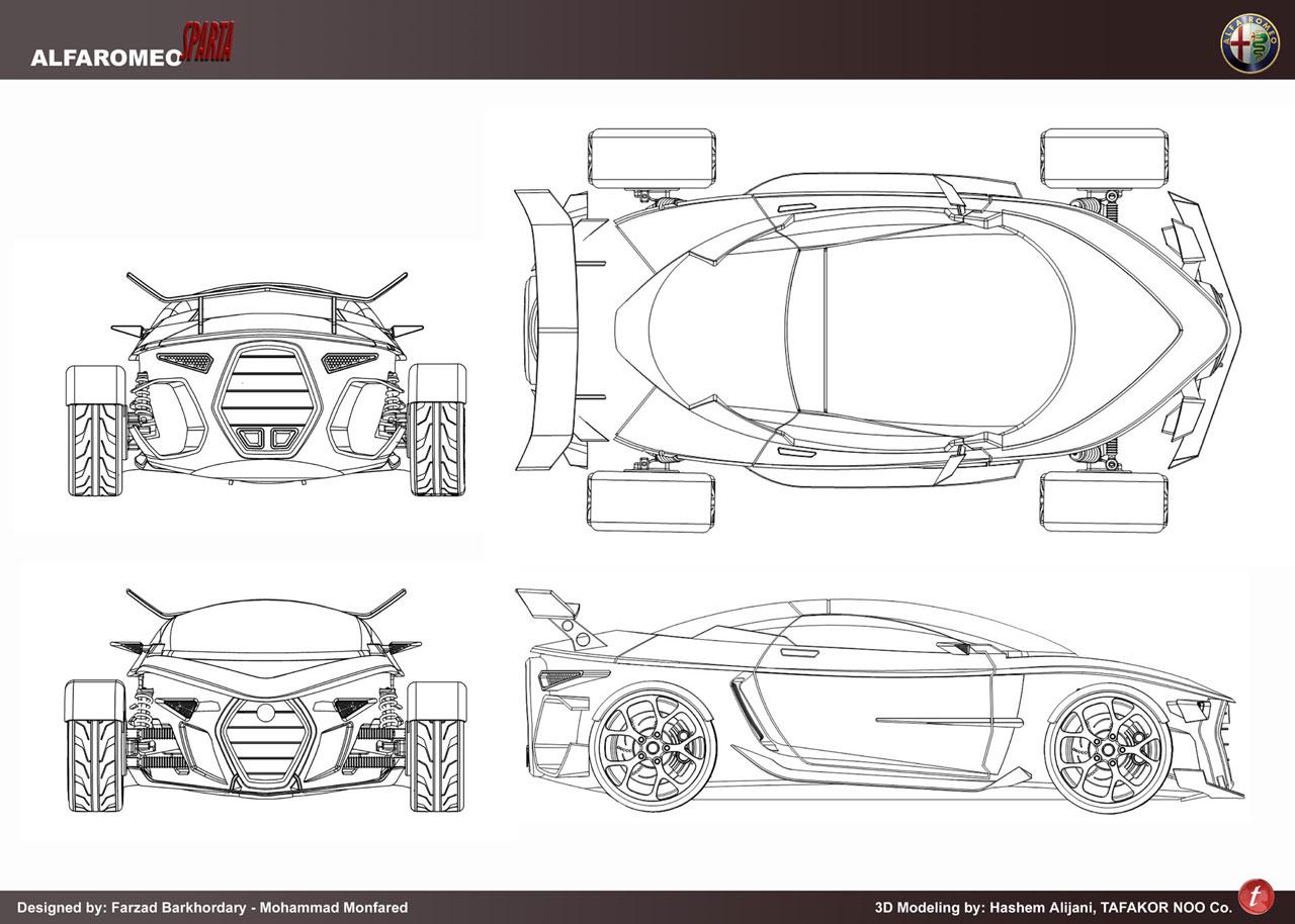 Car Concept Blueprints Images